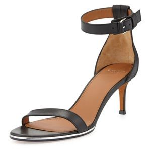Givenchy Nadia Low Heel Ankle Strap Sandal